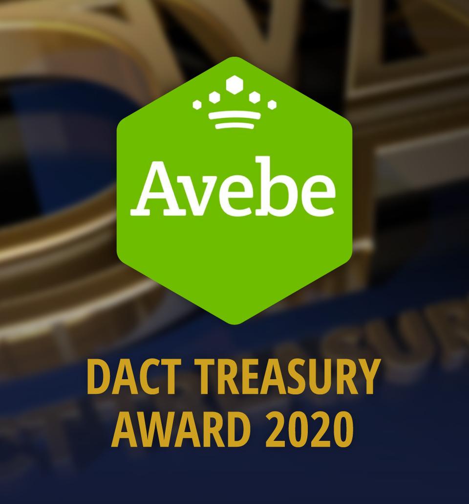 DACT Treasury Award